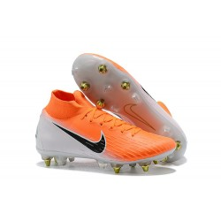 Nike Mercurial Superfly 360 Elite SG Pro Anti-Clog - Arancio Bianco