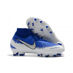 Nike Phantom VSN Elite Dynamic Fit FG Nuovo Scarpa - Bianco Blu