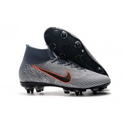 Nike Mercurial Superfly 360 Elite SG Pro Anti-Clog Grigio Nero