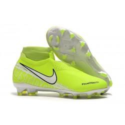Scarpe da Calcio Nike Phantom Vision Elite FG Volt Bianco