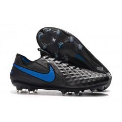 Nike Tiempo Legend 8 Elite FG Scarpa da Calcio - Nero Blu