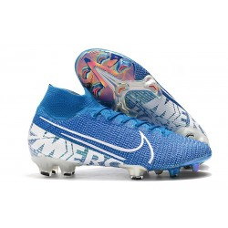 Nike Mercurial Superfly VII Elite FG Scarpa - New Lights Blu