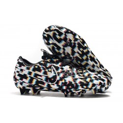 Nike Tiempo Legend 8 Elite FG Scarpa da Calcio - Nero Bianco