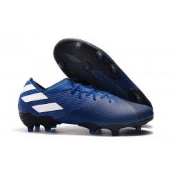 adidas Nemeziz 19.1 FG Scarpa da Calcio - Blu Bianco