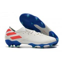 adidas Nemeziz 19.1 FG Scarpa da Calcio - Bianco Rosso Blu