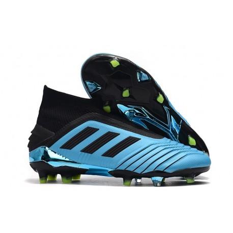 adidas Predator 19+ FG Scarpe Calcio - Blu Nero