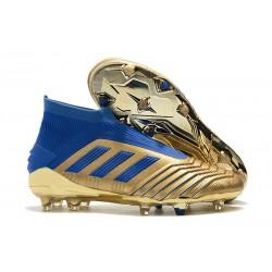 Scarpa adidas Predator 19+ FG - Oro Blu