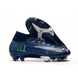 Nike Dream Speed Mercurial Superfly VII Elite FG Scarpa - Blu Bianco