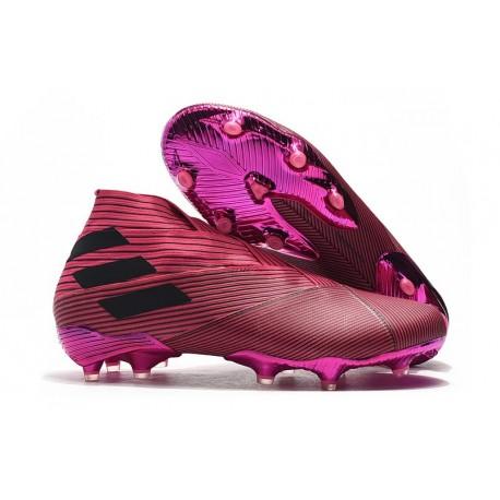 adidas Scarpe da Calcetto Nemeziz 19+ FG - Rosa Nero