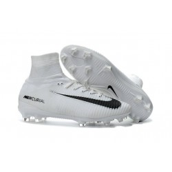 Scarpe Nike Mercurial Superfly V FG Dynamic Fit - Bianco Nero