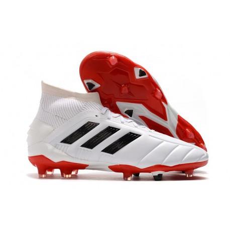 Scarpe da Calcio adidas Predator 19.1 FG - Bianco