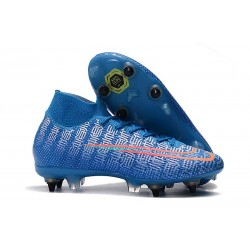 Nike Mercurial Superfly 7 Elite SG Pro AC Blu Rosso
