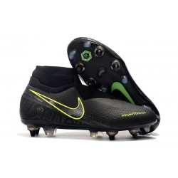 Nike Phantom VSN Elite DF SG-PRO Anti-Clog Nero Volt