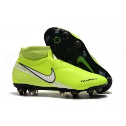 Nike Phantom VSN Elite DF SG-PRO Anti-Clog Volt Bianco
