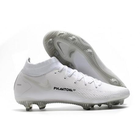Scarpa Nike Phantom GT Elite DF FG Uomo - Bianco