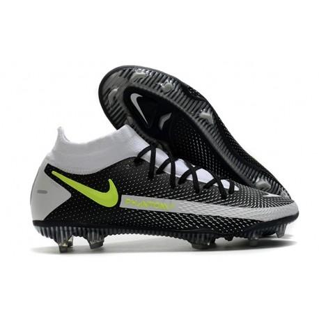 Scarpa Nike Phantom GT Elite DF FG Uomo - Nero Grigio