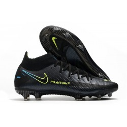 Nike 2021 Phantom GT Elite DF FG - Nero Giallo