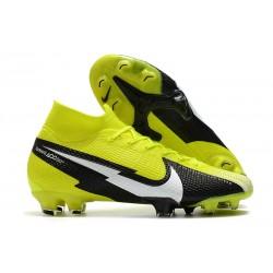 Scarpe da Calcio Nike Mercurial Superfly 7 Elite FG Giallo Nero Bianco
