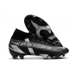 Nike Mercurial Superfly VII Elite FG Future Nero Argento
