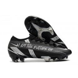 Nike Mercurial Vapor 13 Elite FG ACC Future Nero Argento