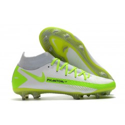 Nike 2021 Phantom GT Elite DF FG - Bianco Verde