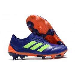 Scarpa Nuovo adidas Copa 19.1 FG - Viola Verde Arancio